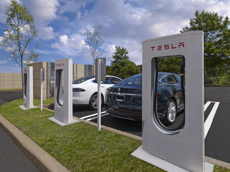 Tesla Motors Electric Vehicle Charging Stations Hatzel