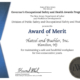 H&B Award of Merit Certificate 2018
