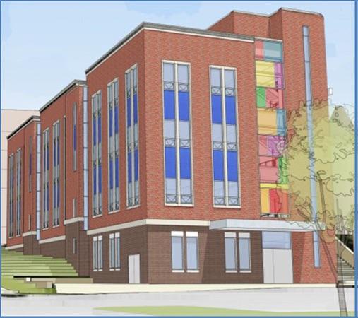Central Catholic High School Stem Building Hatzel