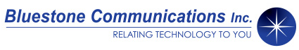 Bluestone Communications, Inc. Logo